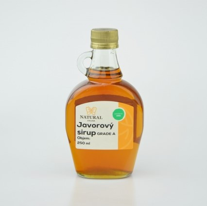 Javorový sirup 250 ml Natural Jihlava