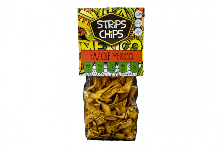 Strips Chips Fazuľa Mexiko 80 g